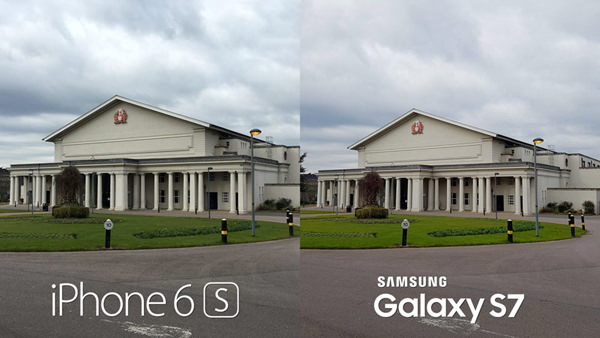 Samsung Galaxy S7 vs. iPhone 6s Apple Camera test 2