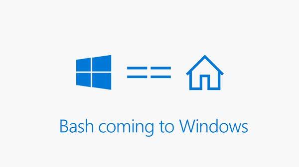 Windows 10 Microsoft добавит в Windows 10 командную строку Bash 2