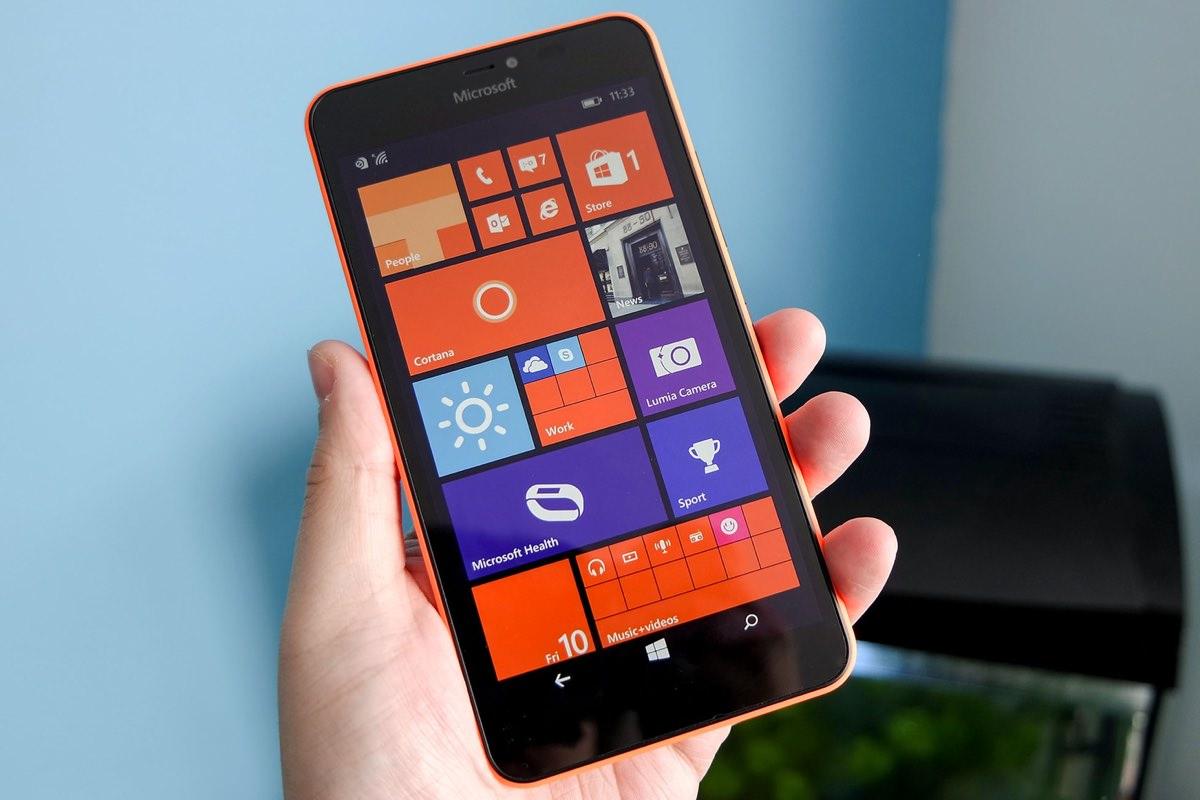 Список смартфонов Lumia с поддержкой обновления до Windows 10 Mobile