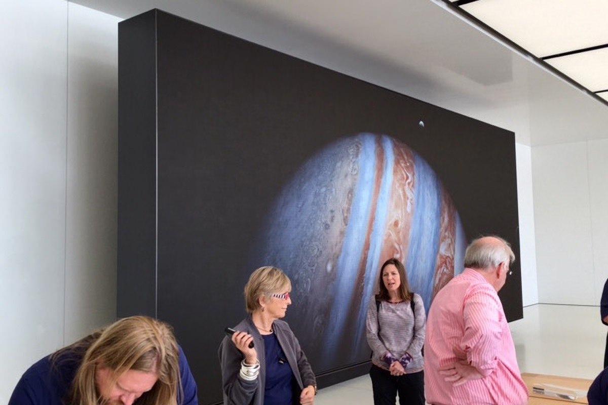Стоимость телевизора в Apple Store нового поколения оценена в 1,5 млн долларов