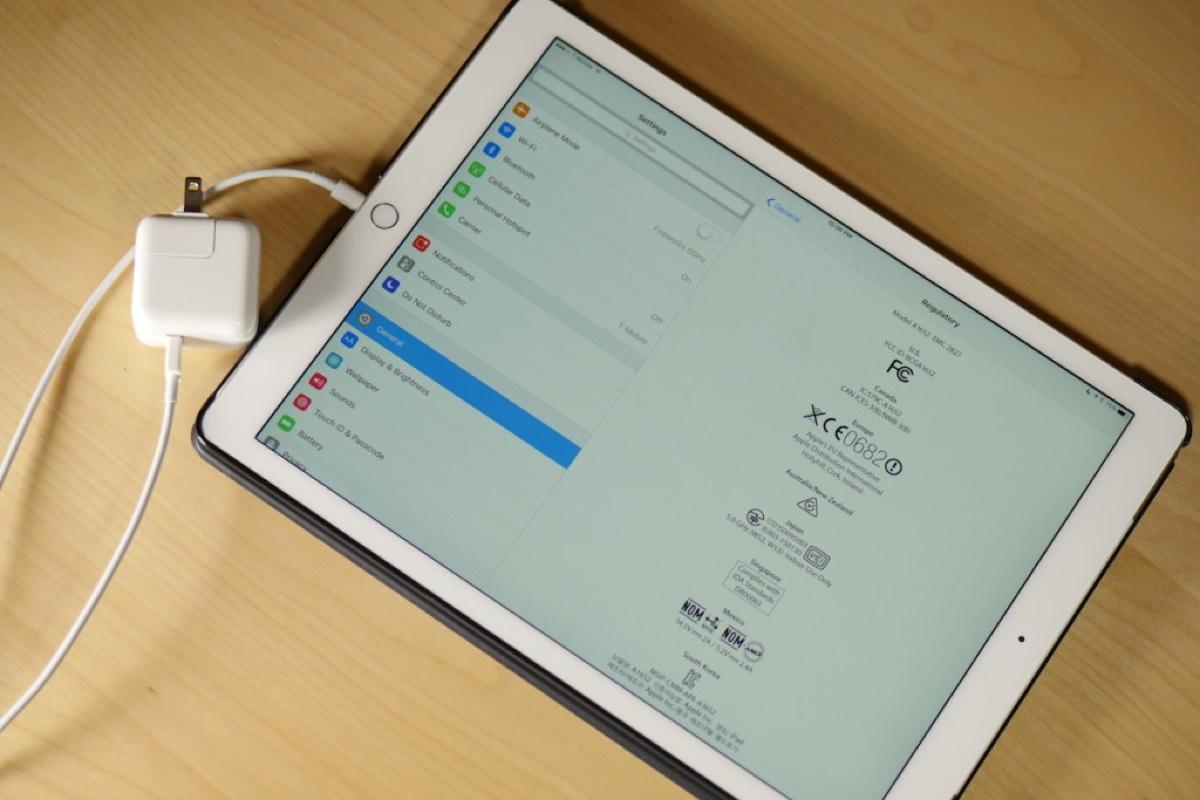 Адаптер питания USB Type-C заряжает iPad Pro в три раза быстрее