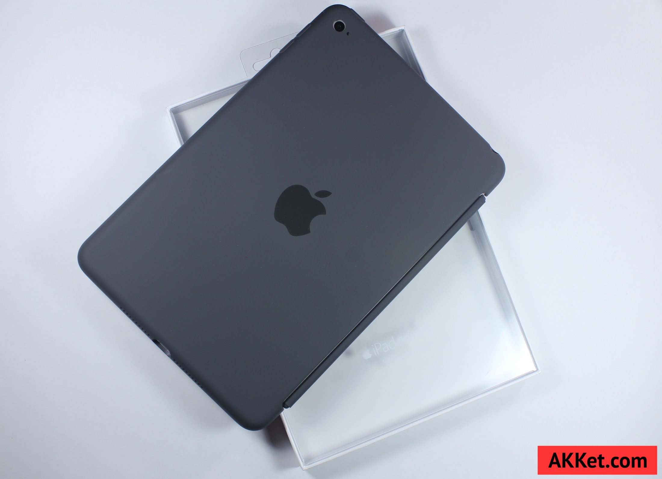 Apple Silicone Case iPad mini 4 Charcoal Gray review 17