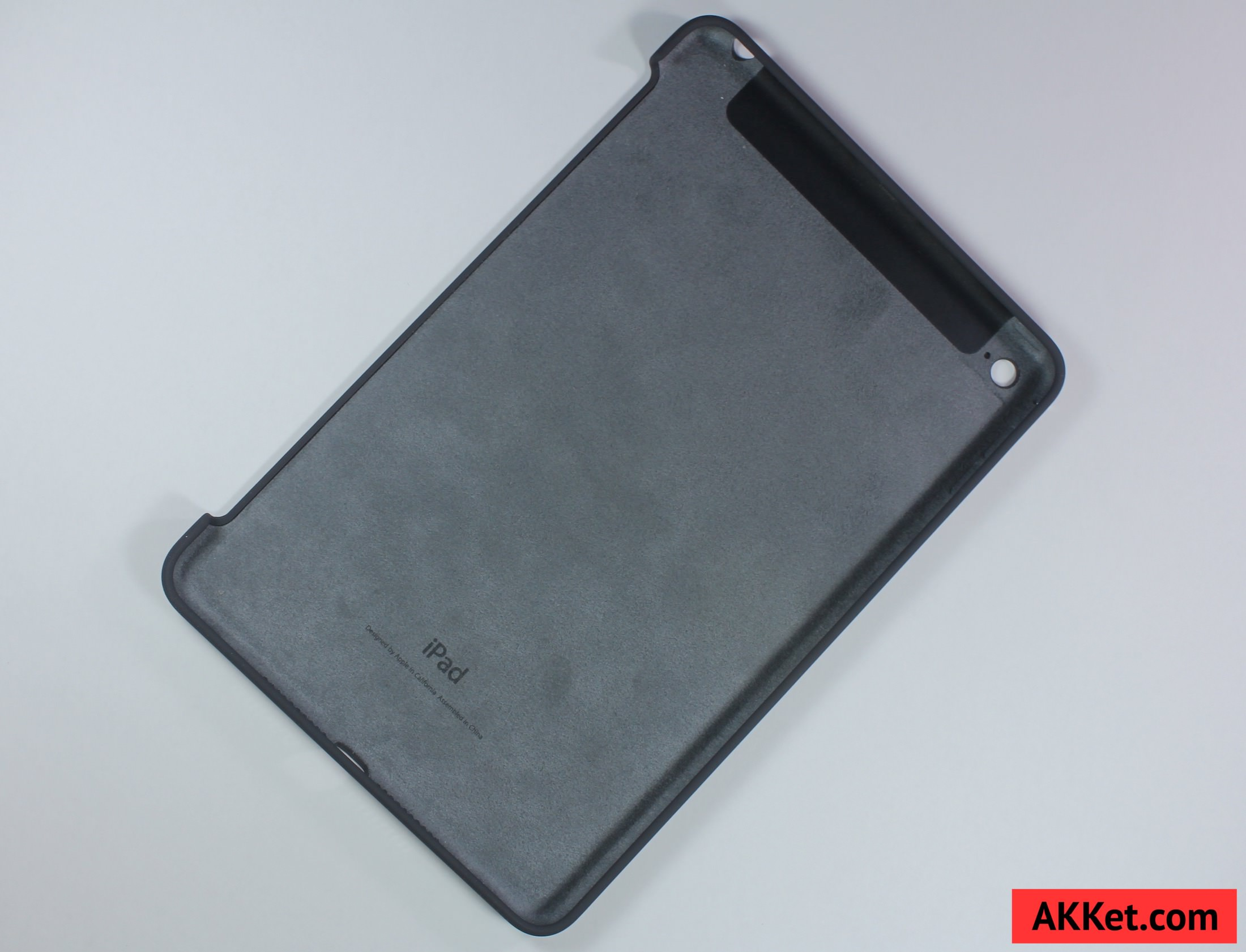 Apple Silicone Case iPad mini 4 Charcoal Gray review 7