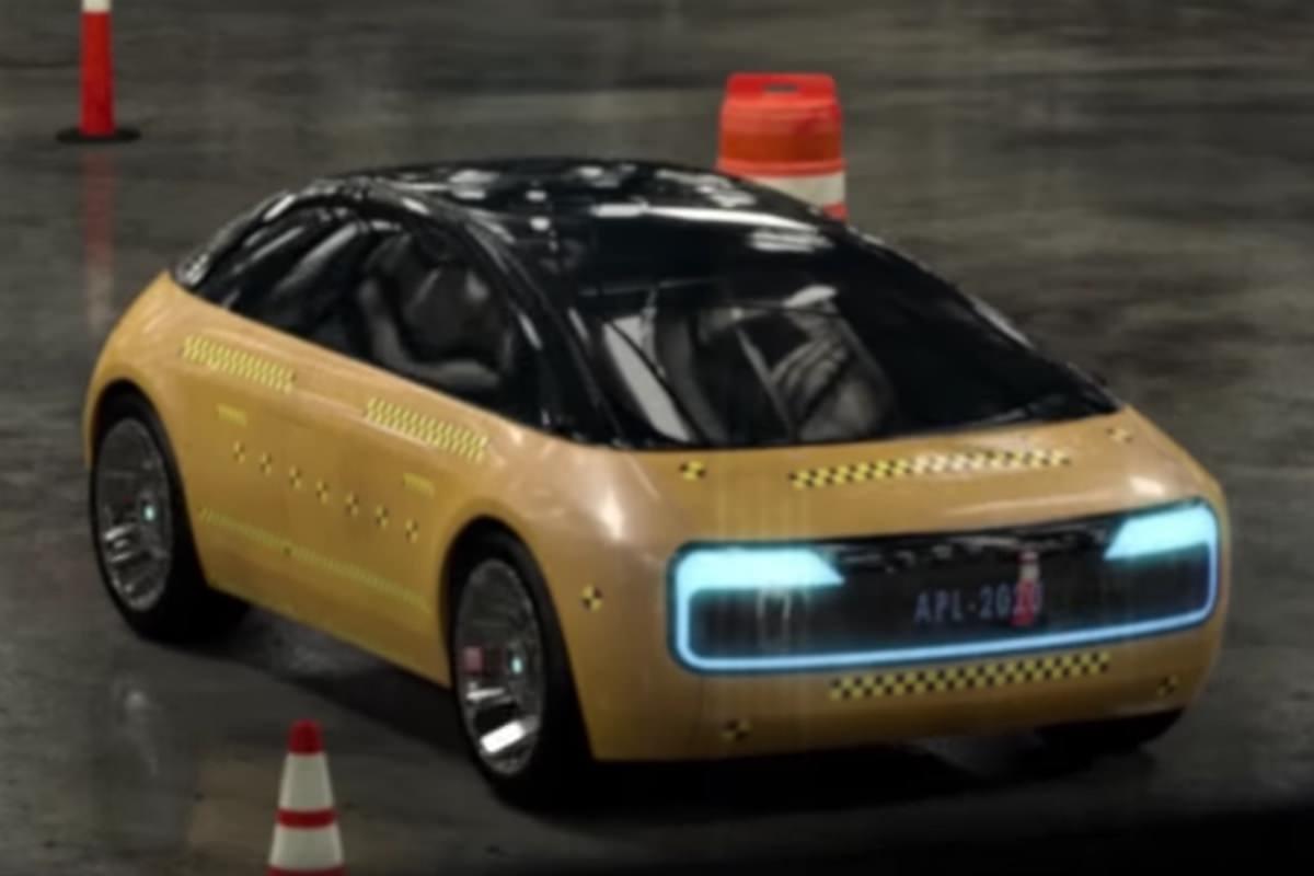 Видеоролик с электромобилем Apple Car попал в сеть