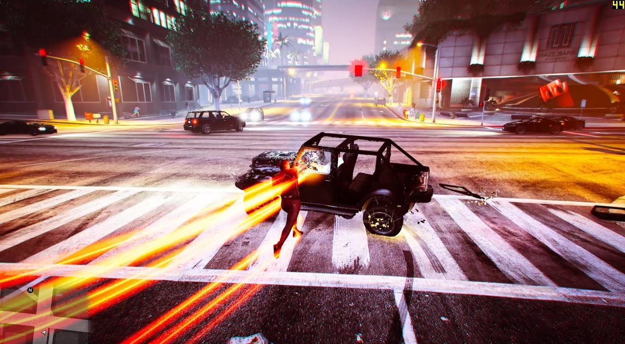 Flash GTA V mod Download