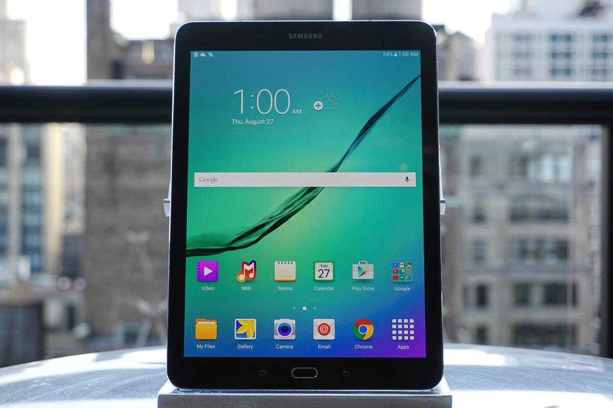 Samsung выпустила обновленные планшеты Galaxy Tab S2