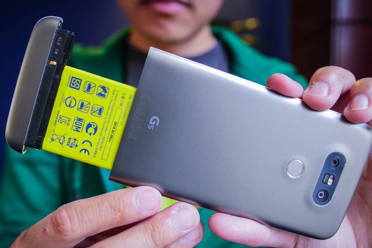 LG работает над 4-дюймовым модульным смартфоном G5 SE