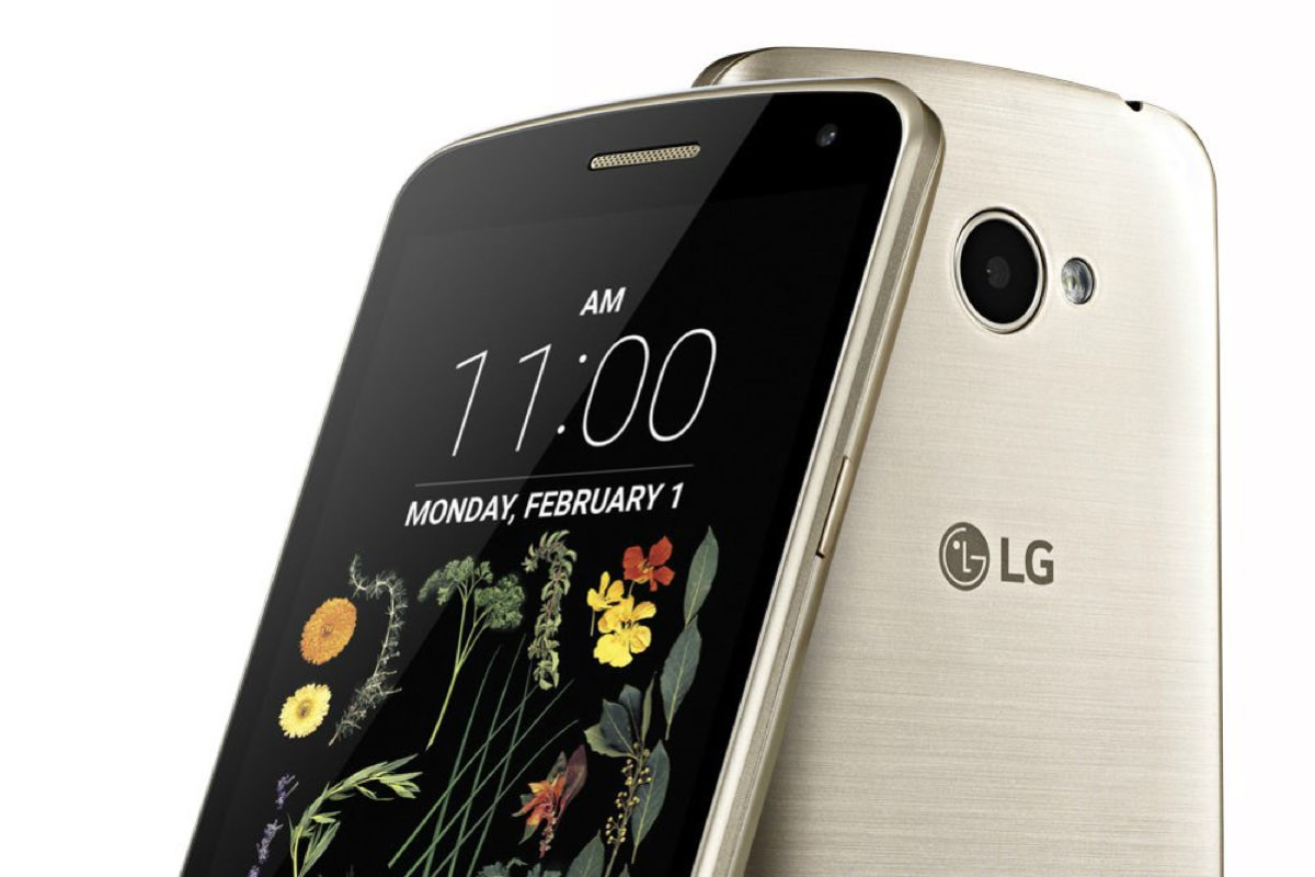 В России начались продажи бюджетного смартфона LG G5