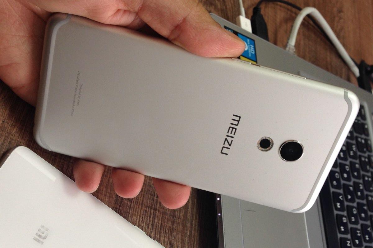Свежие качественные снимки смартфона Meizu Pro 6