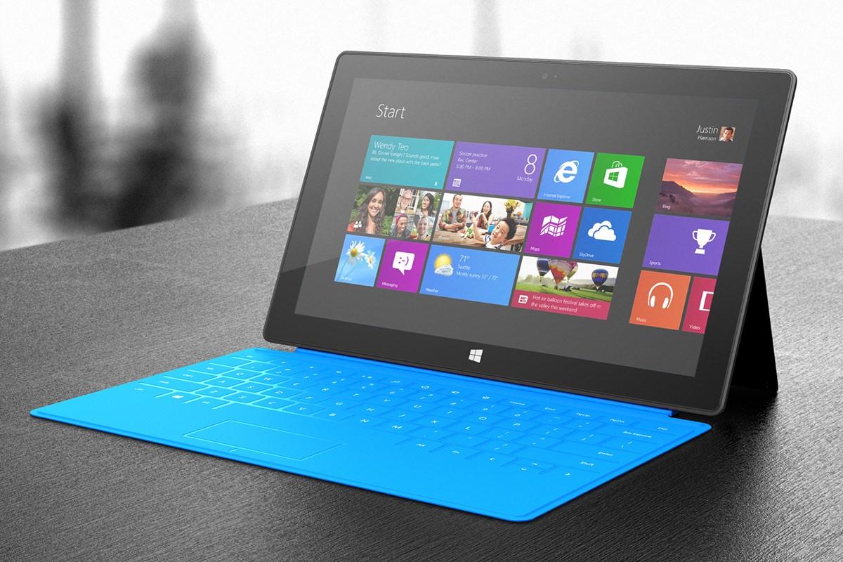 Microsoft Surface RT получит операционную систему Windows 10 Mobile