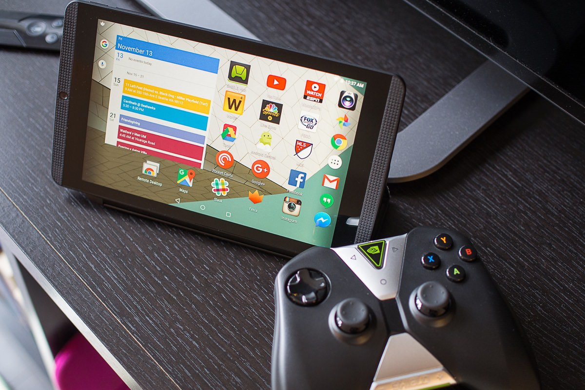 Nvidia Shield Tablet K1 обновили до Android 6.0.1 Marshmallow