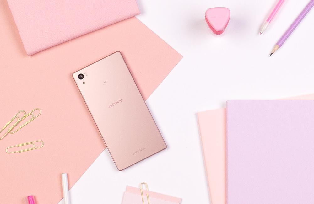 Sony Xperia Z5 Premium Pink gold