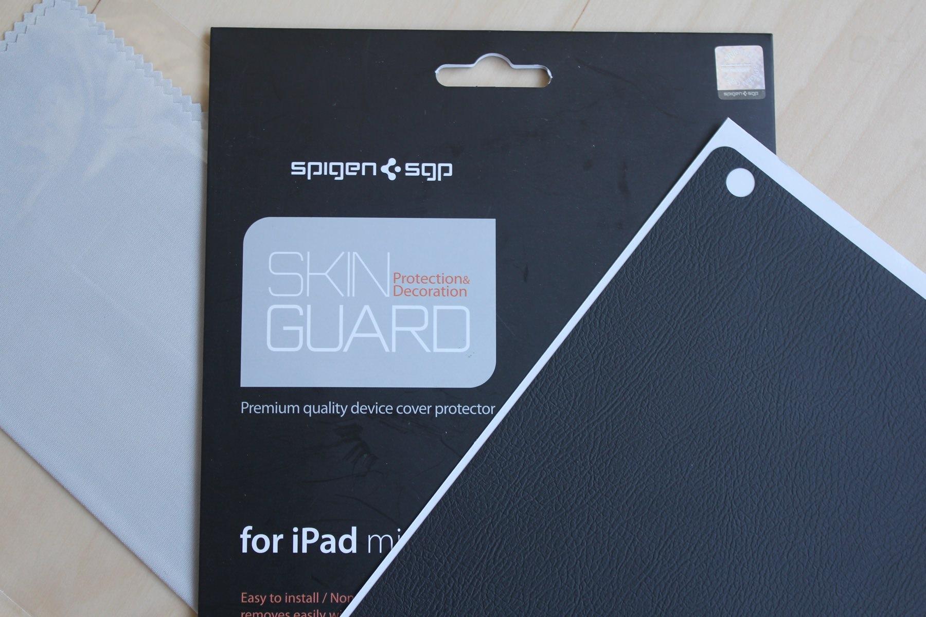 Обзор пленки-скина Spigen SGP SkinGuard для iPad mini 4