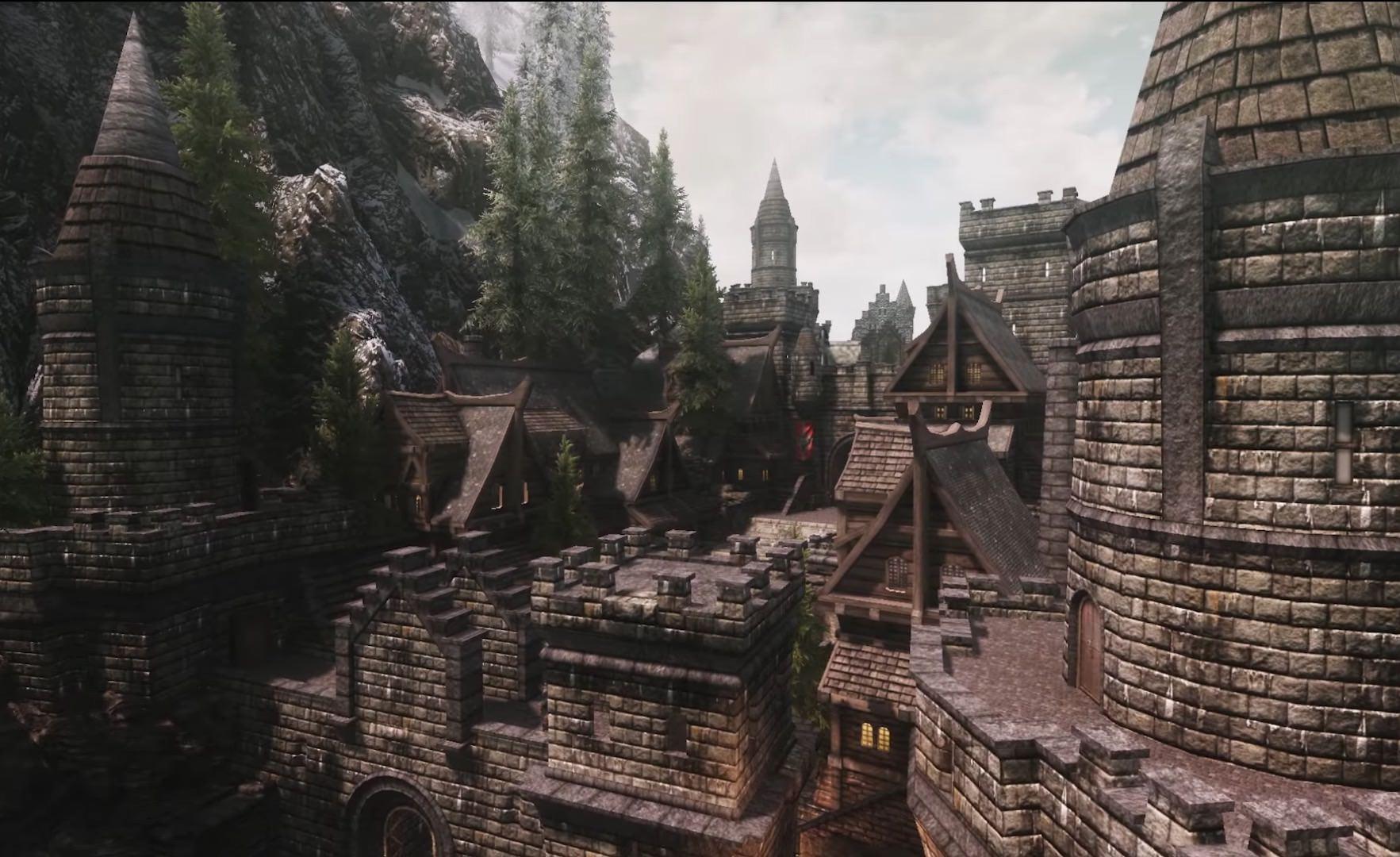 The Elder Scrolls V Skyrim Holds The City Overhaul