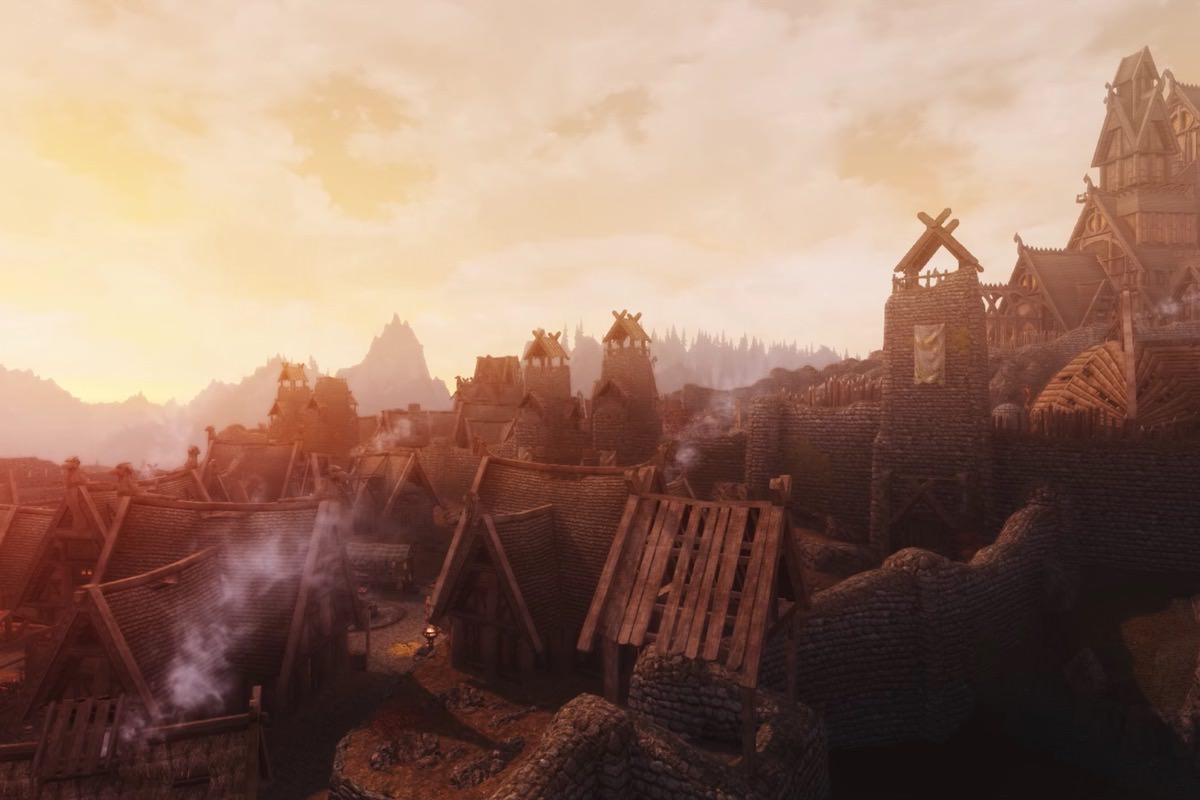 Мод для The Elder Scrolls V: Skyrim добавляет в игру огромные города