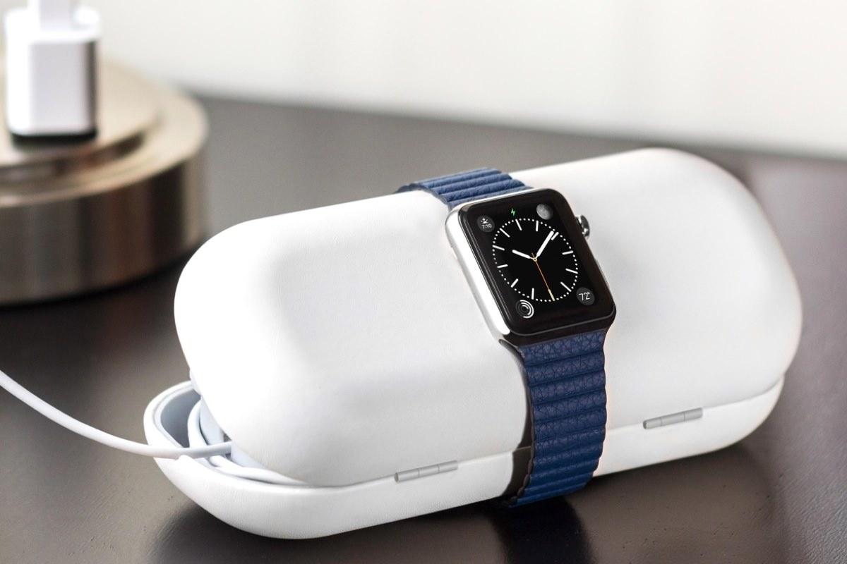 TimePorter – кейс для подзарядки и переноски Apple Watch