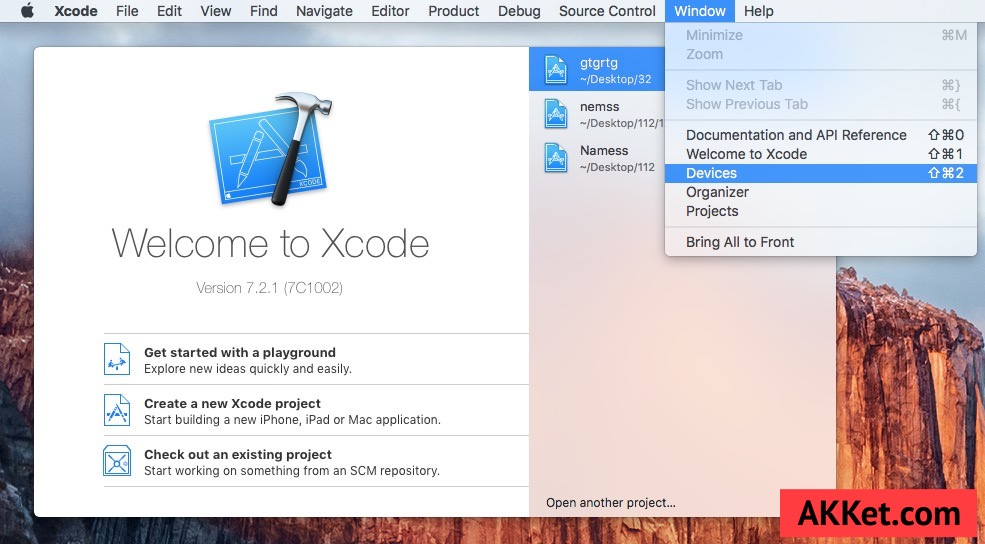 Xcode App Store install iOS 9.3.1 iOS 9.3 iPhone ipad
