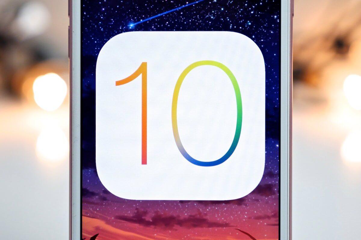 Реалистичный концепт операционной системы iOS 10