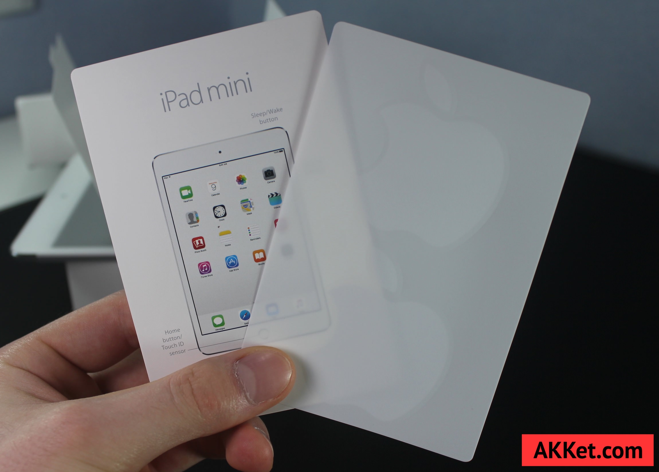 iPad mini 4 Review Russia unboxing 10