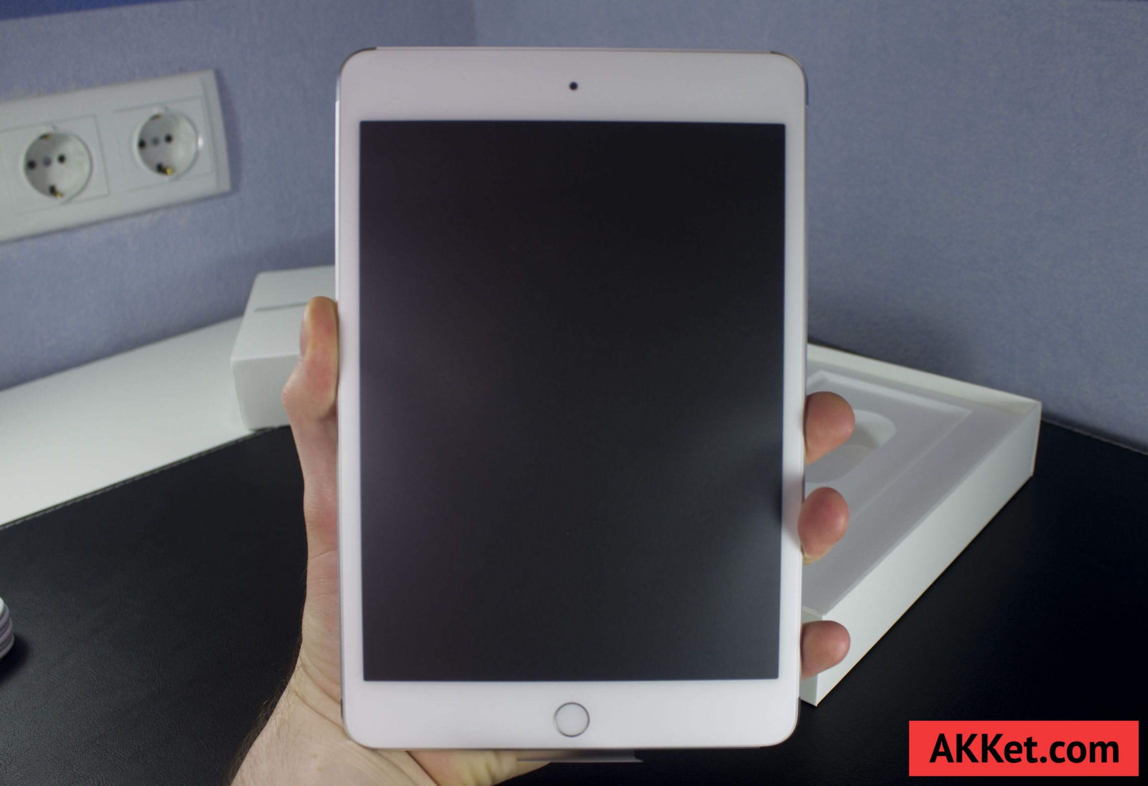 iPad mini 4 Review Russia unboxing 12