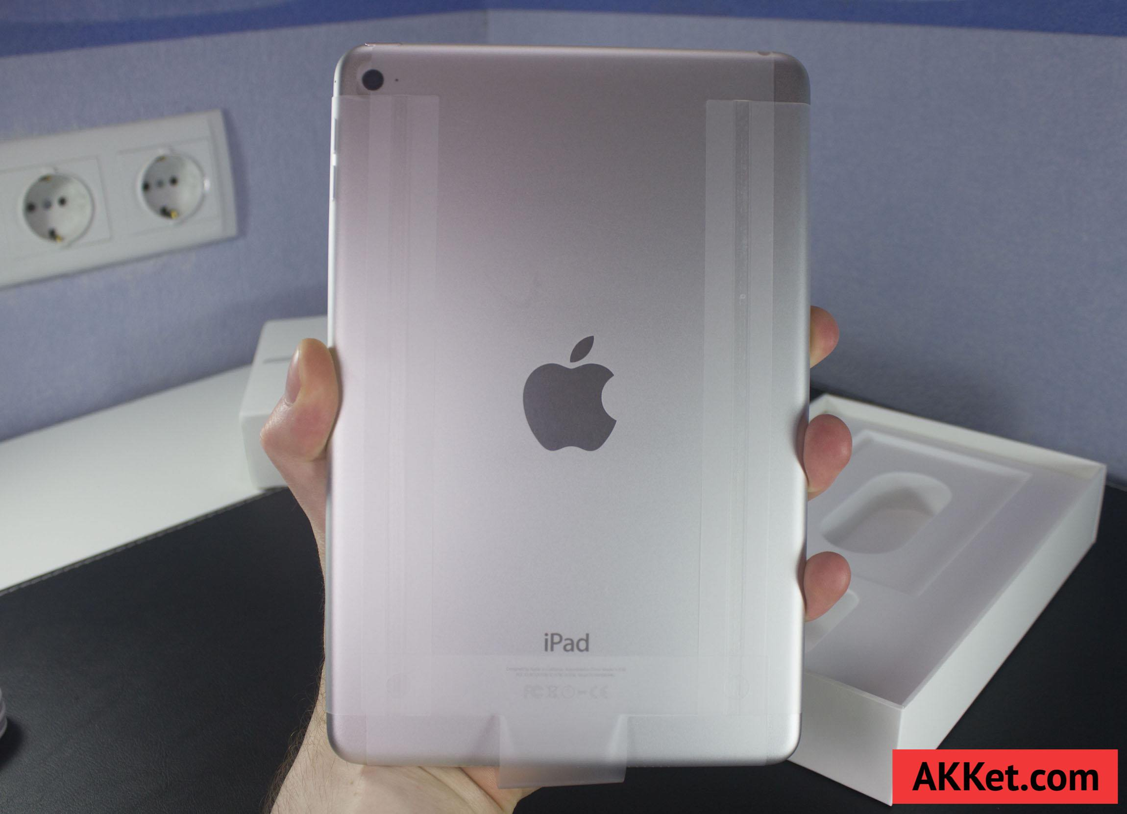 iPad mini 4 Review Russia unboxing 13
