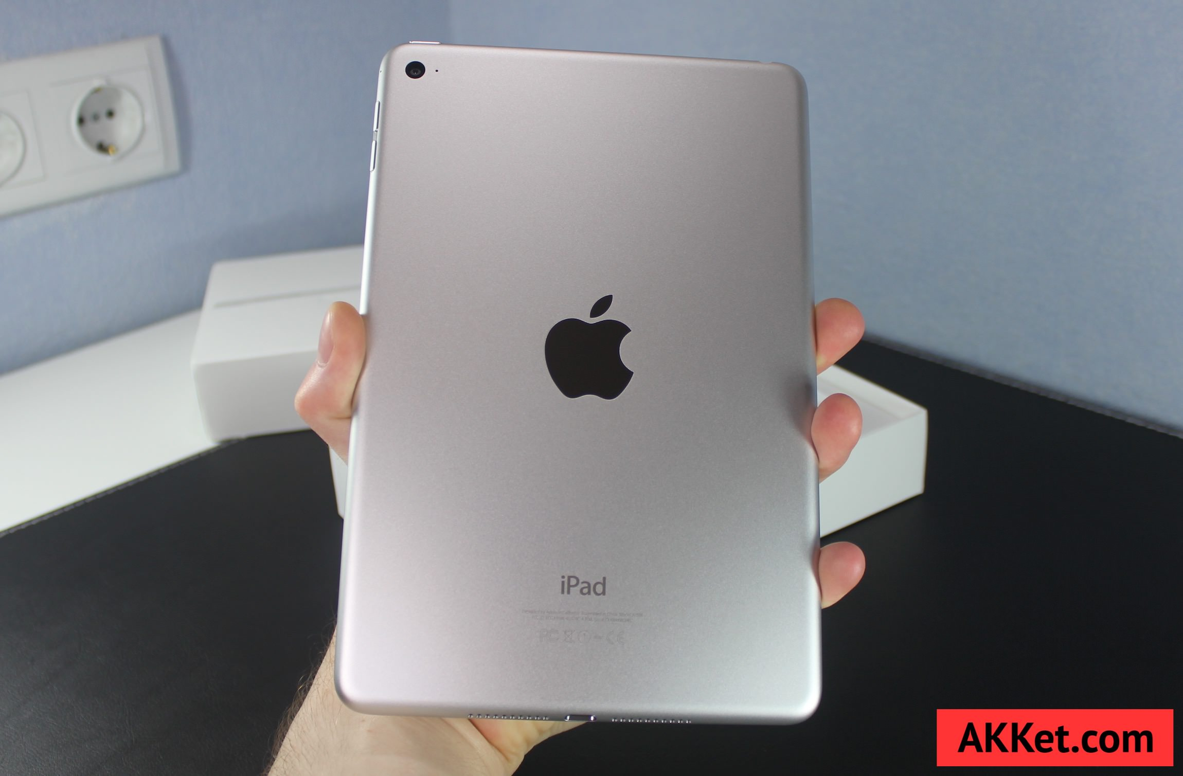 iPad mini 4 Review Russia unboxing 16