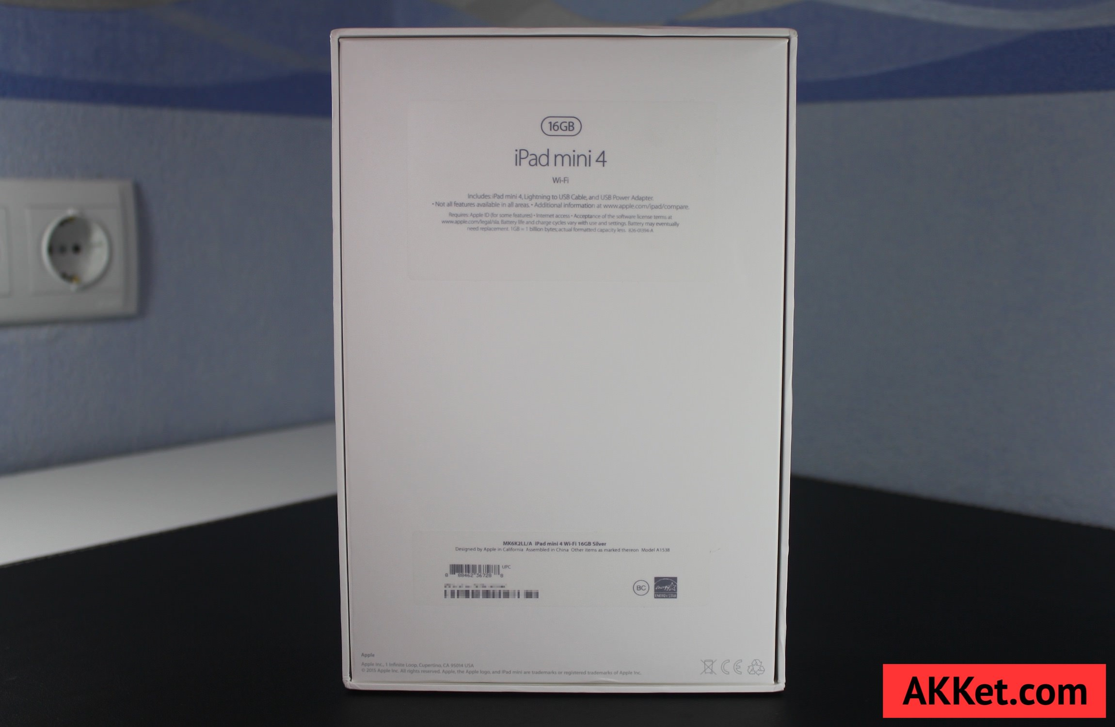 iPad mini 4 Review Russia unboxing 2