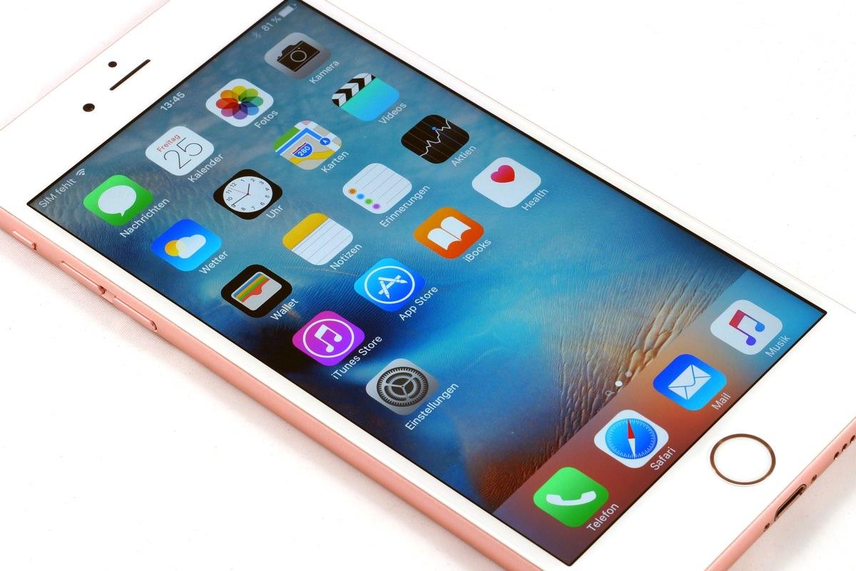 Лицевая часть iPhone 7 останется идентичной iPhone 6s