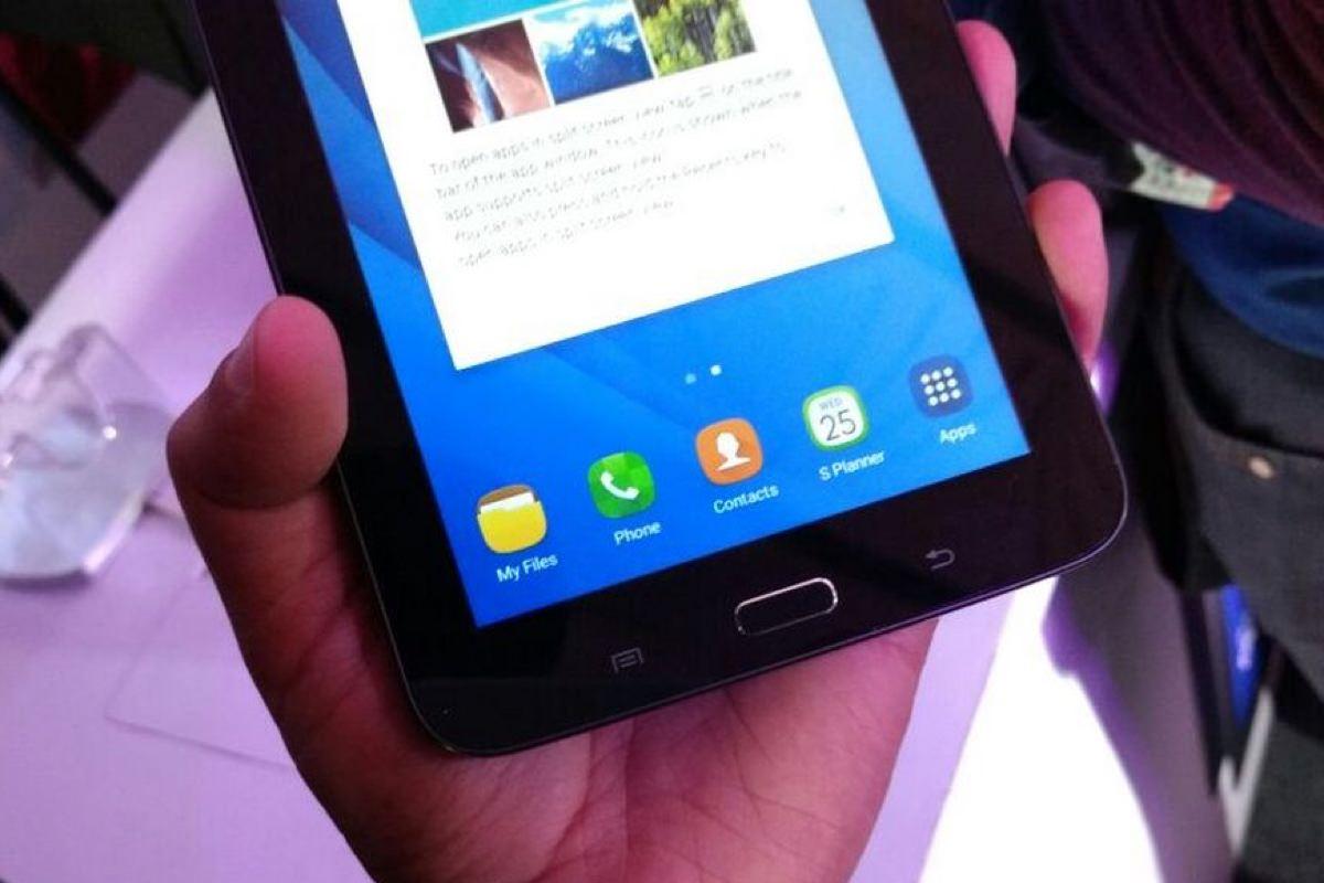 Samsung представила планшет Galaxy Tab Iris со сканером сетчатки глаза