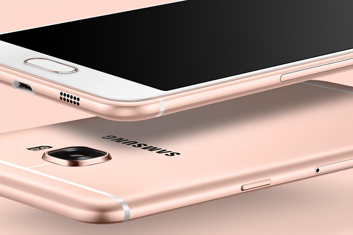 Samsung презентовала смартфон Galaxy C5 с 4 Гб оперативной памяти