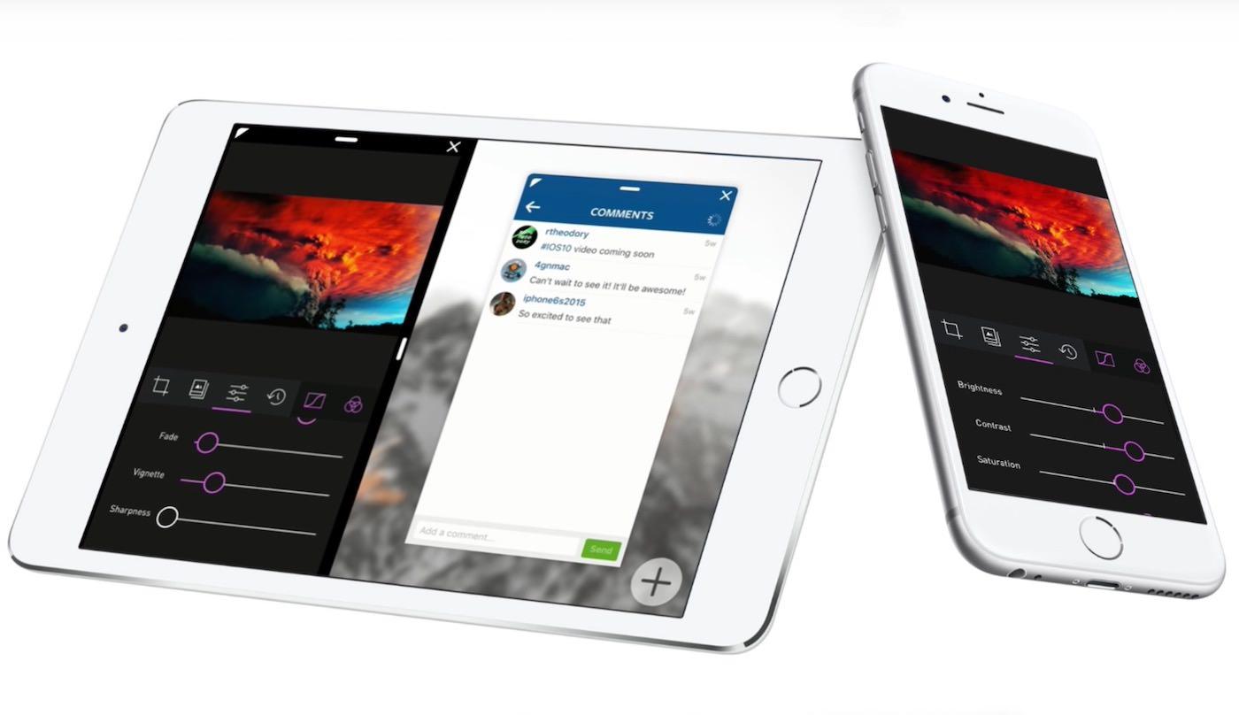 Apple iPad iOS 10 2
