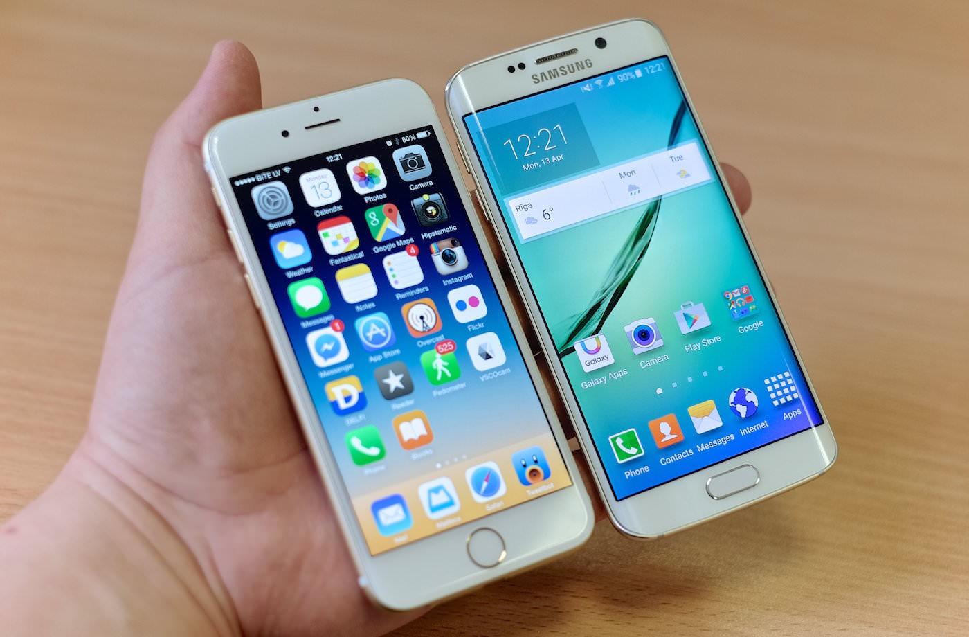 Apple iPhone 6s Samsung Galaxy S7 2
