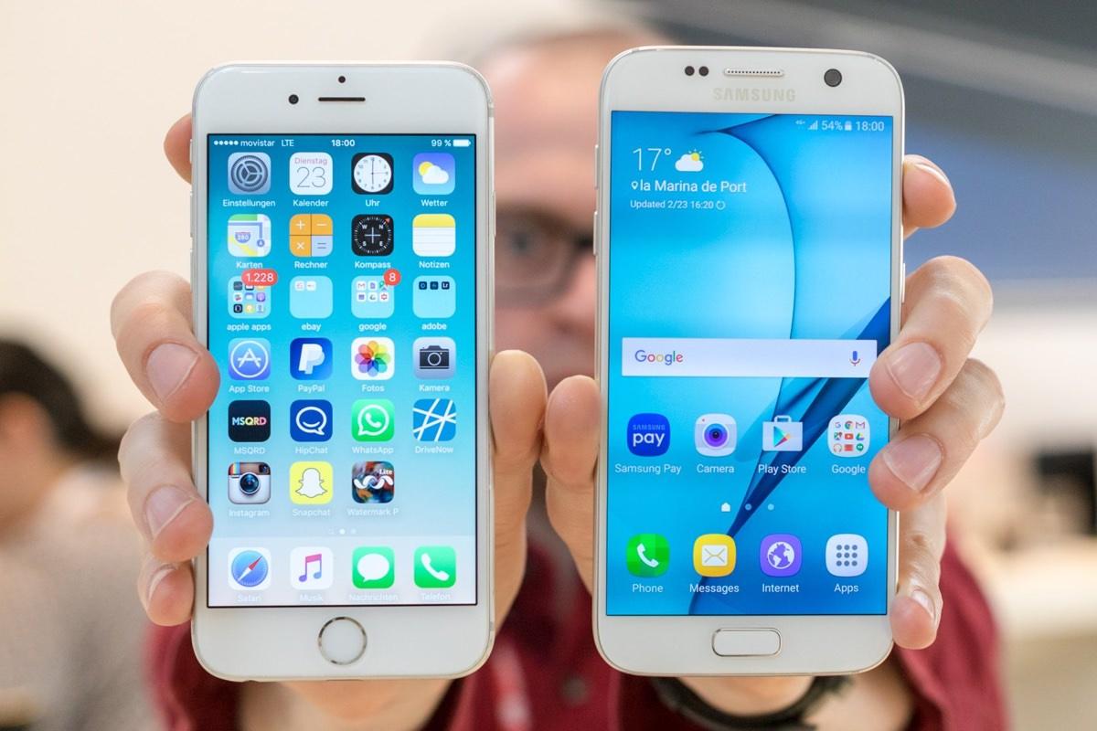 5 преимуществ iPhone 6s над Samsung Galaxy S7