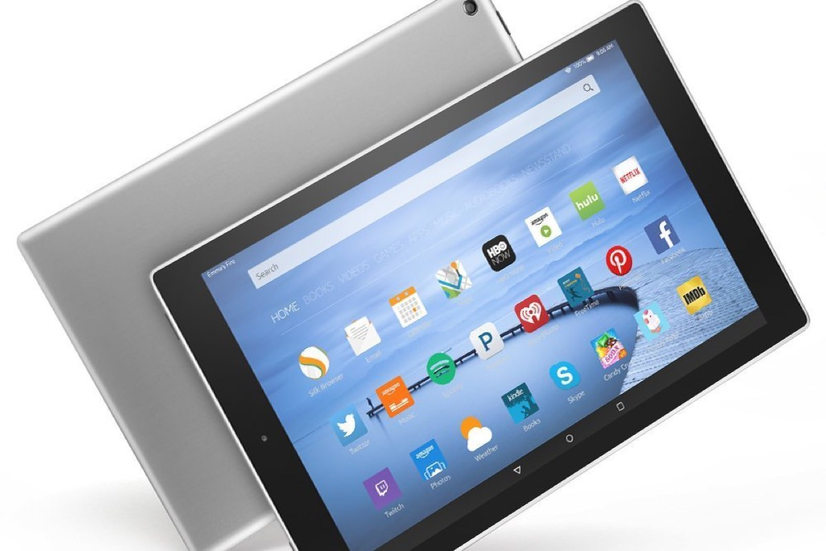 Начались продажи металлического планшета Amazon Fire HD 10
