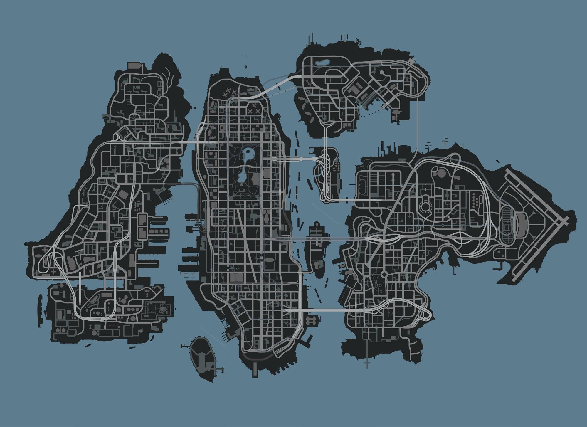 GTA V Rockstar  Либерти-Сити 2