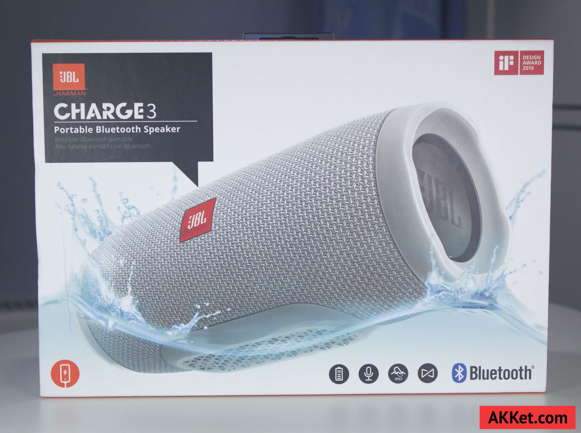 JBL Charge 3 review russia photo speaker bluetooth 1