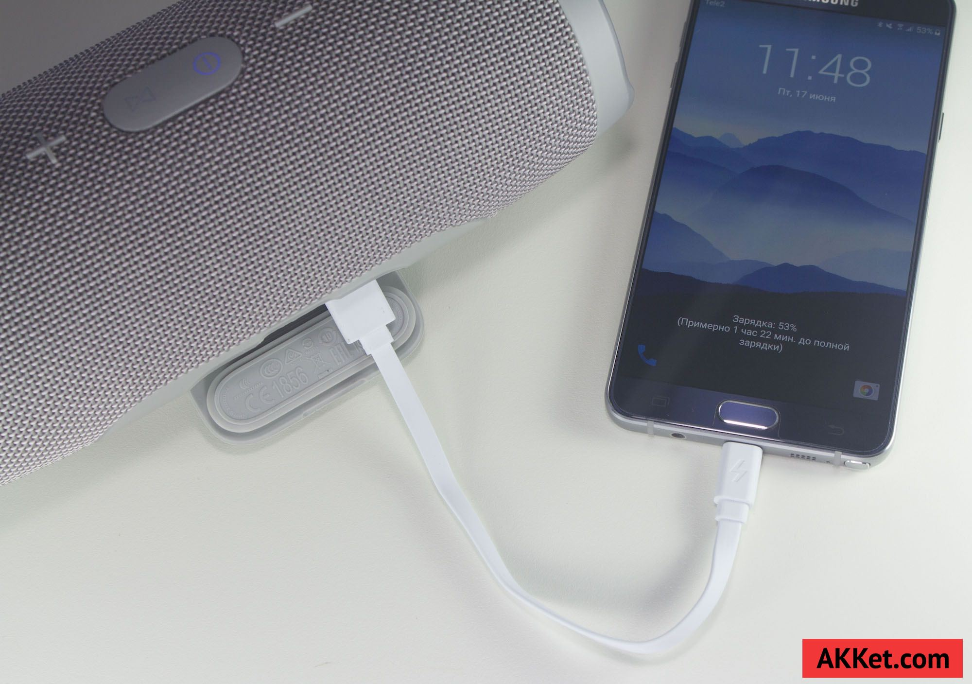JBL Charge 3 review russia photo speaker bluetooth 27