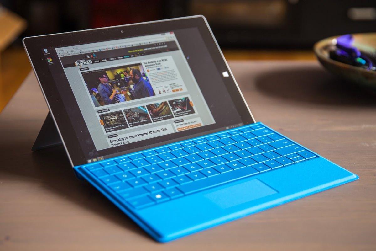 Производство Microsoft Surface 3 прекратится в декабре