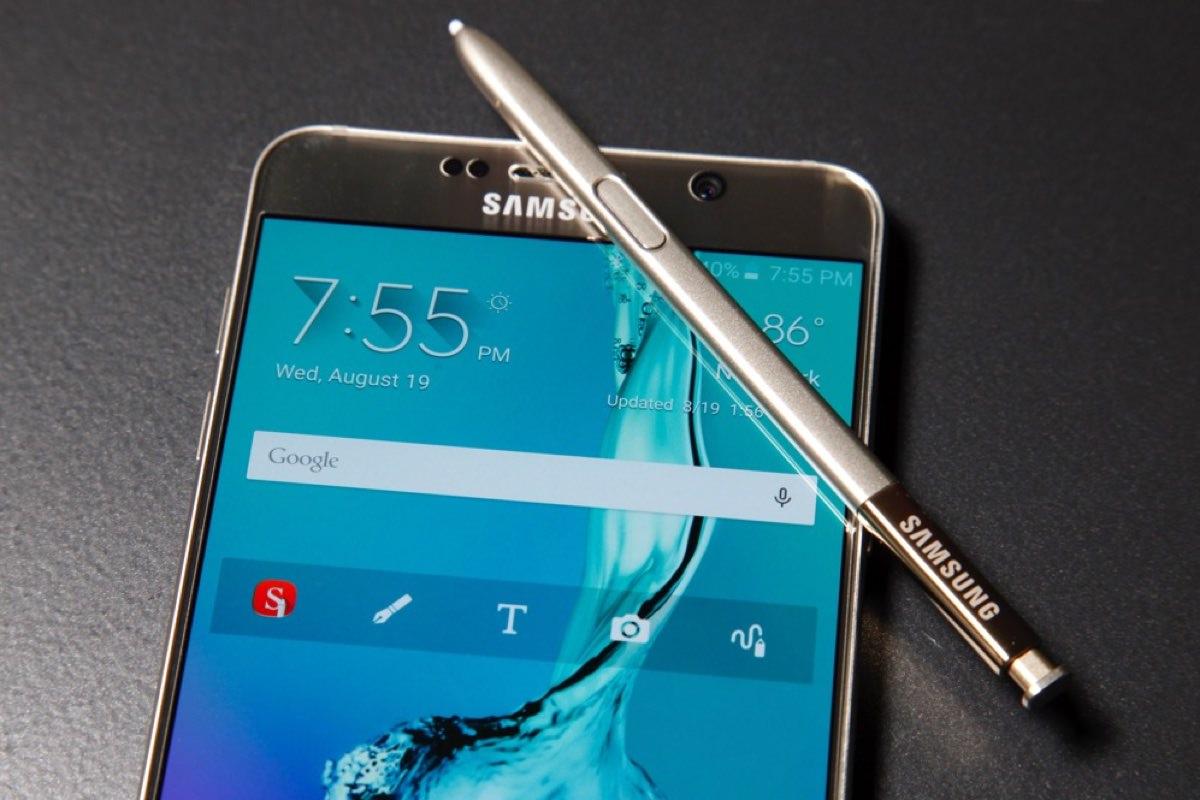 Samsung разработала интерфейс New Note UX для Galaxy Note 5