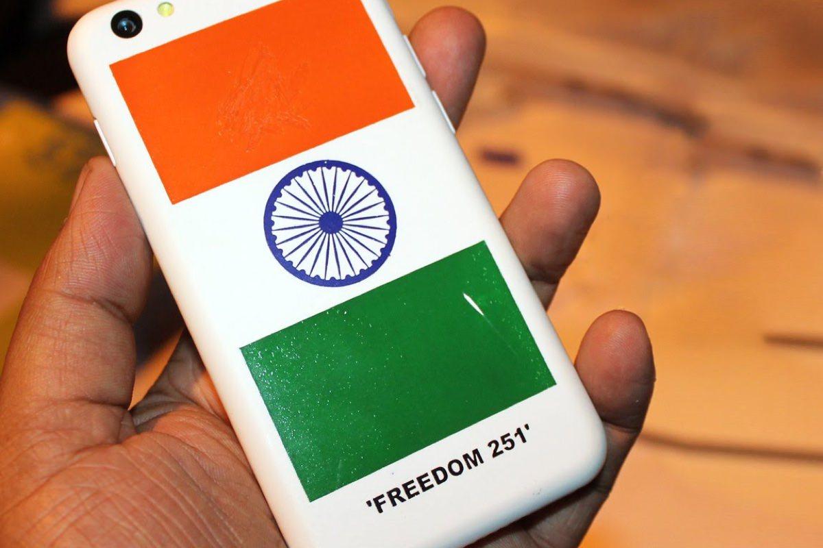 Смартфон Freedom 251 стоимостью $4 поступит в продажу 30 июня