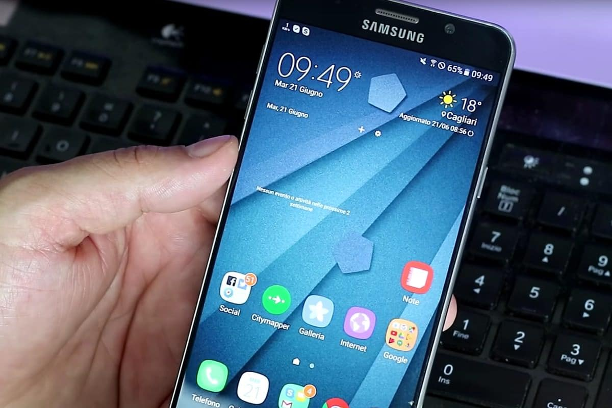 Оболочку TouchWiz UX для Samsung Galaxy Note 7 показали на видео