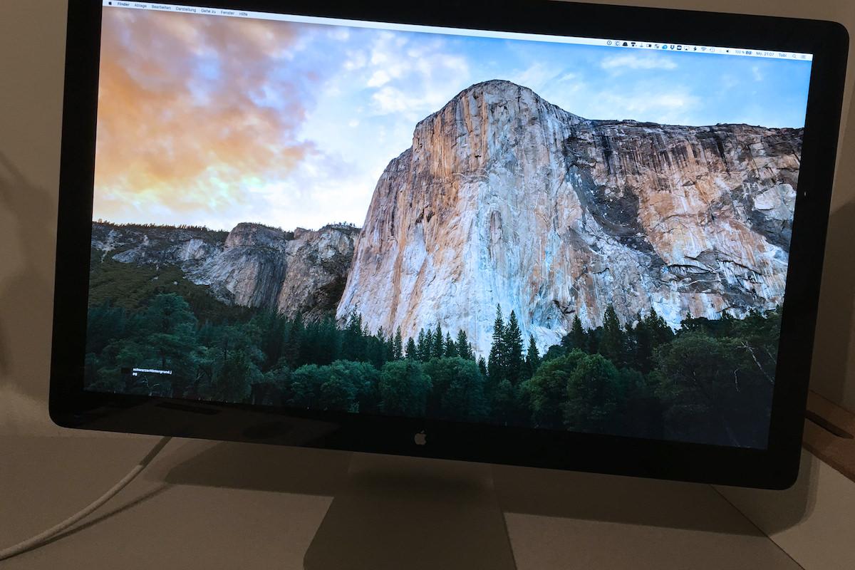 Новый Thunderbolt Display с разрешением 5K начнет продаваться осенью