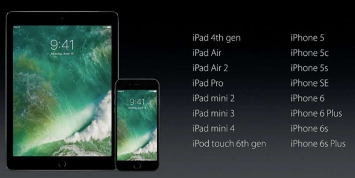WWDC 2016 iOS 10