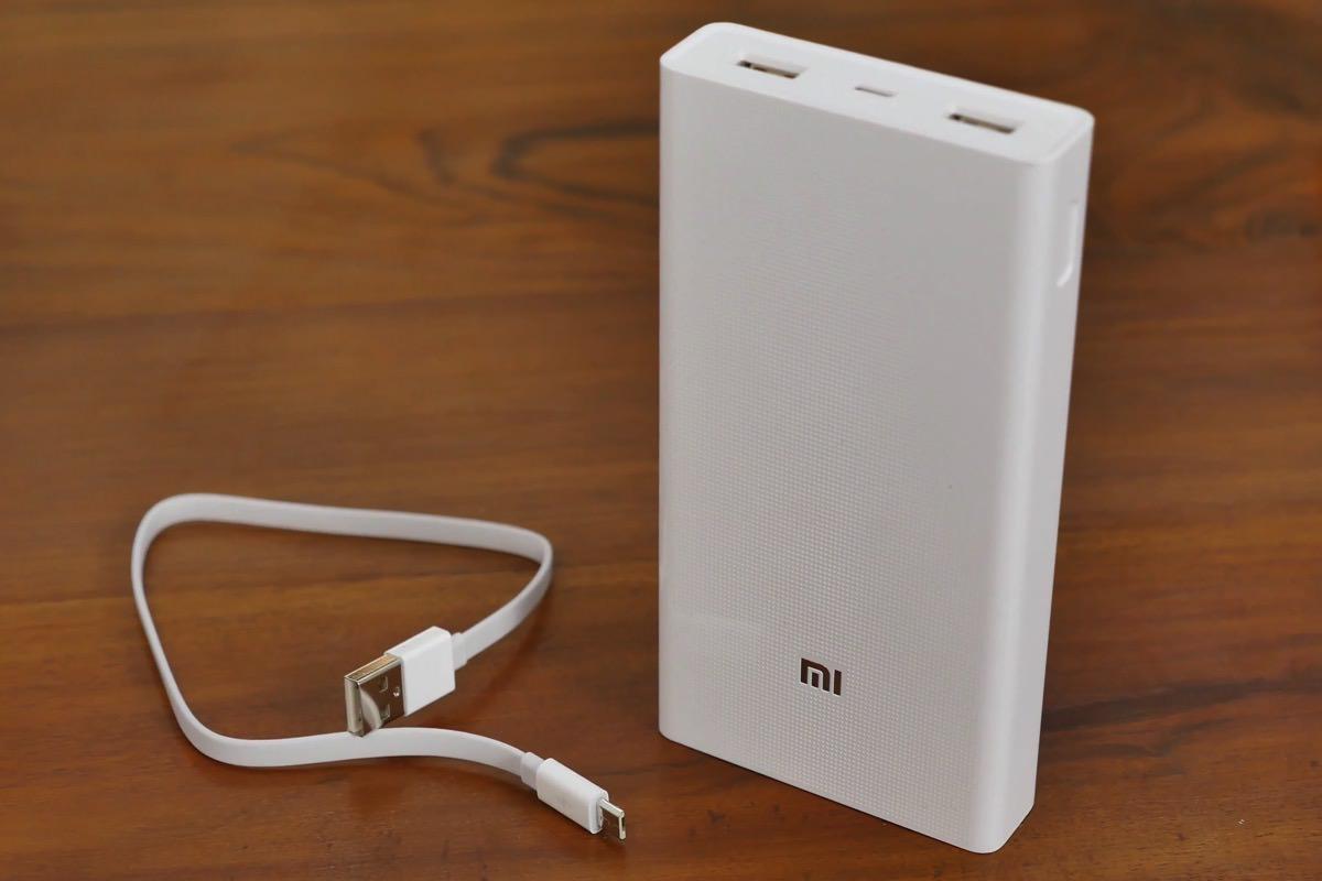Обзор аккумуляторной батареи Xiaomi Mi Power Bank 20000 мАч