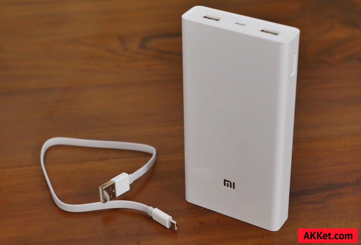 Xiaomi Mi Power Bank 20000 mAh 6