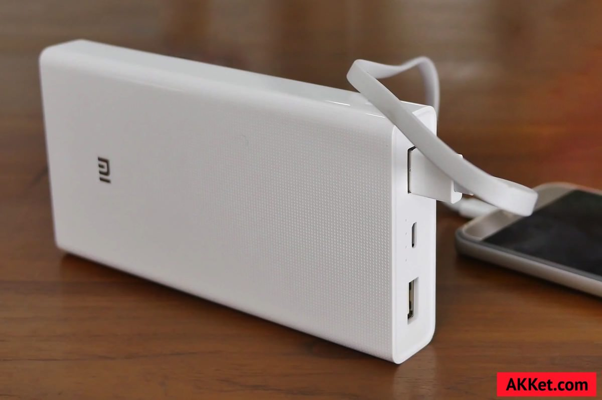 Xiaomi Mi Power Bank 20000 mAh 8