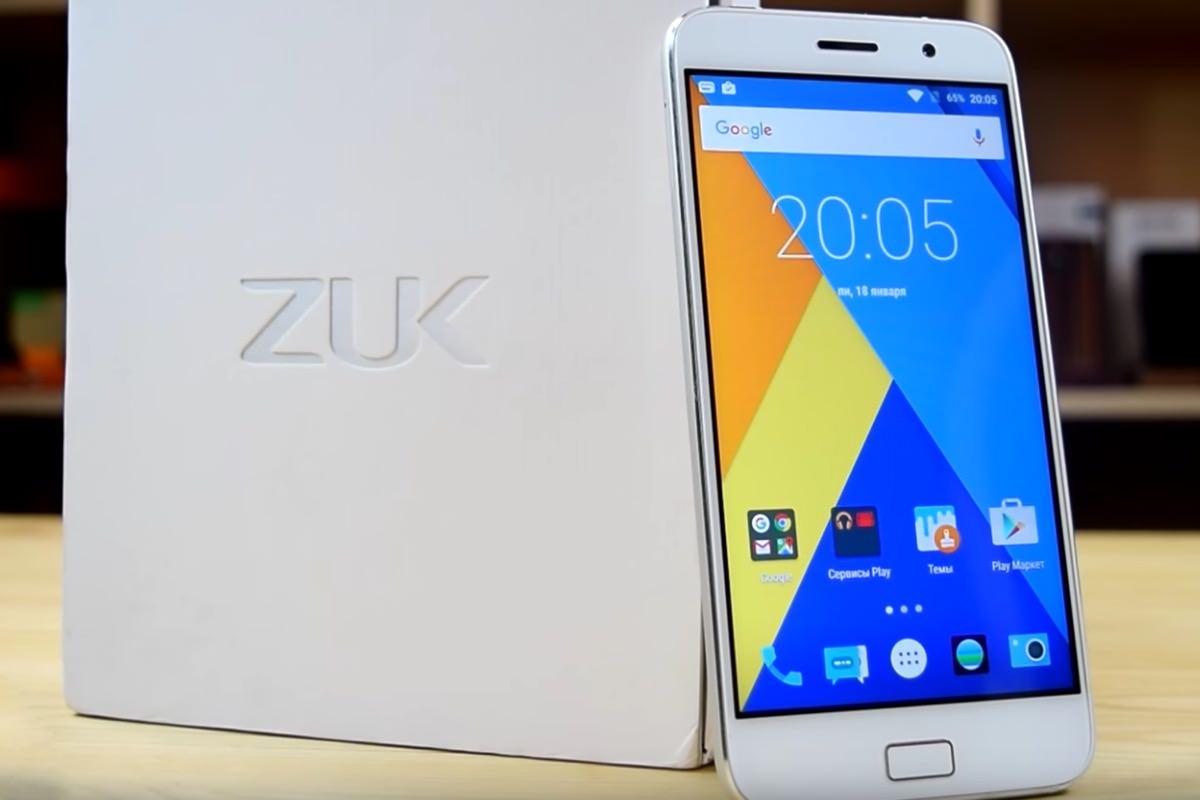 Смартфон ZUK Z1 начал официально продаваться в России
