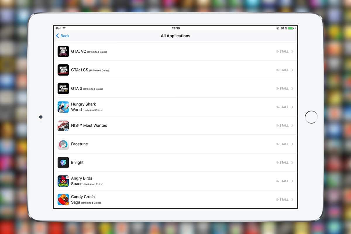 Как устанавливать платные приложения на iPhone и iPad без джейлбрейка