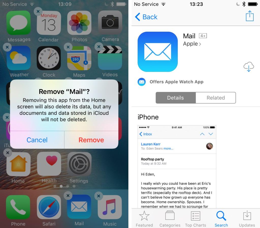 iOS 10 App Delete Full iPhone iPad 4