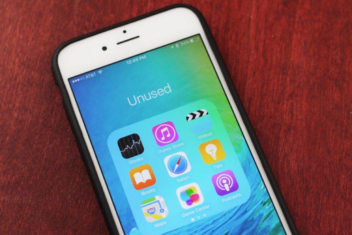 iOS 10 App Delete Full iPhone iPad 5